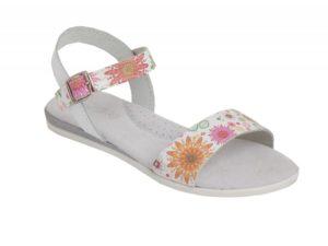 Sandalias en piel para niñas